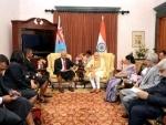 PM Modi meets Fiji PM, other leaders