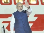 PM Modi leaves New York for home