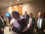 Naredra Modi meets Obama,  Hollande , Cameron in New York