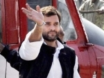 Rahul Gandhi undertakes padayatra in Telangana, meets farmers