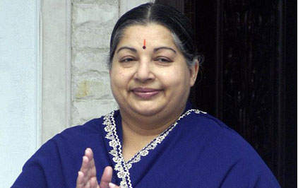 Jayalalithaa heads for a massive victory in TN by-election
