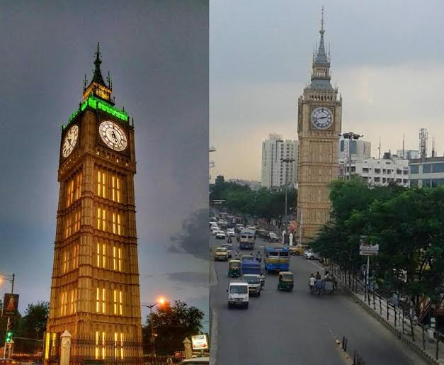 Kolkata Gets Its Own Big Ben During Durga Puja Indiablooms