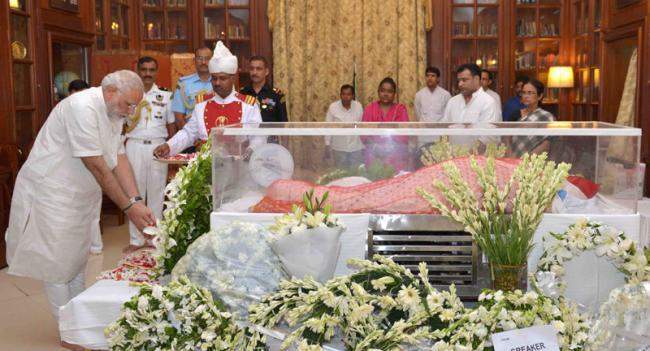 J&K CM Mufti Mohammad Sayeed mourns Suvra Mukherjee's demise
