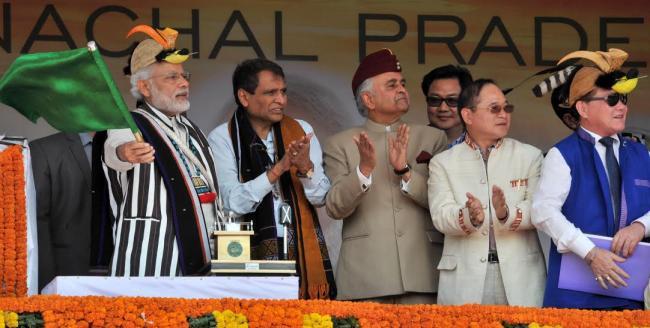 Modi inaugurates new railway line from Hazaribag to Koderma