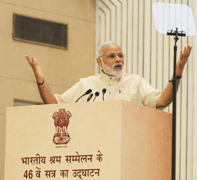 Indian society should develop a conciseness towards dignity of labour: PM Modi