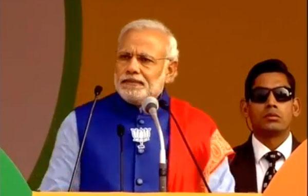 Modi greets people for festivals