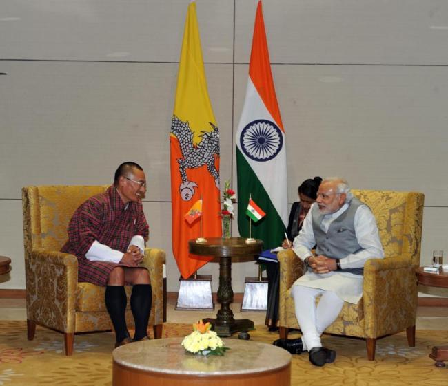PM Modi meets Tshering Tobgay