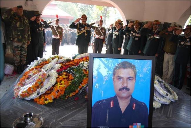 Sonia Gandhi mourns Col M.N. Rai's death