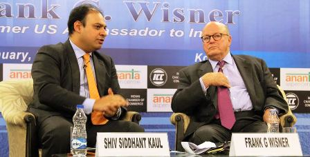 Obama's visit to India will boost Indo-US ties: Frank G. Wisner