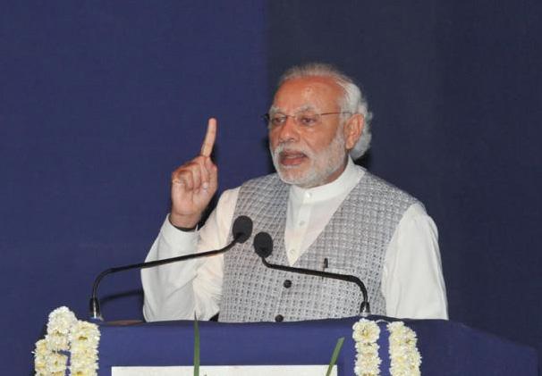 Modi pays tribute to Chhatrapati Shivaji