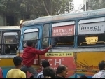 Kolkata: Two buses collide in Shyambazar, several hurt