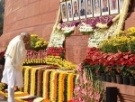 PM Modi and other pay homage to 2001 Parliament attack martyrs