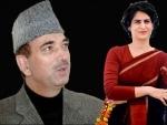Priyanka Gandhi meets UP Congress in charge Ghulam Nabi Azad