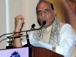 Congress has habit of destabilising Governments : Rajnath Singh