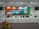 Rahul presides over CWC meet in absence of Sonia Gandhi