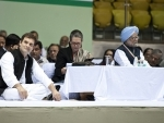 Sonia, Rahul, Manmohan detained briefly after they defy orders for march