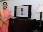Sushma Swaraj thanks people for their good wishes