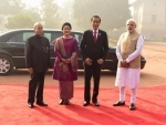Indonesian President Widodo on two-day state visit to India