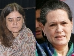 Maneka praises Sonia for move against corruption