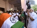 People from all walks of life pay tributes to late CM J Jayalalithaa