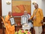 ISKCON head meets PM Modi