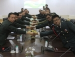 Sino-India border personnel meet on Indian I-Day