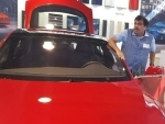 Gadkari visits Tesla in US, Offers to promote JV with Indian Automobile Sector for electric vehicles