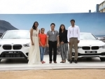 Sachin Tendulkar presents BMW cars to PV Sindhu, Sakshi Malik, Dipa Karmakar, Pullela Gopichand