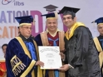President attends 6th foundation day, 3rd convocation of ILBS