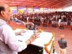 Pampore  attack: Rajnath Singh sends tough message to Pakistan