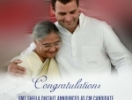 Congress announces Sheila Dikshit as CM candidate for UP elections