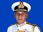 Chief of the Naval Staff Admiral Sunil Lanba visits Sri Lanka