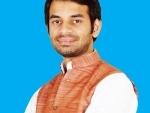 Lalu's minister son Tej Pratap Yadav seeks ban on 'cow slaughter', kicks up controversy