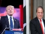 Nawaz Sharif congratulates new US President