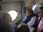 Rajnath Singh calls flood situation in Assam 'grim'