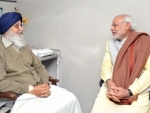 Narendra Modi wishes Punjab Chief Minister Parkash Singh Badal