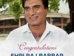 Congress appoints Raj Babbar as UP Congress Committee President