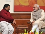 Please speak on Kashmir,other issues: Kejriwal tells Modi
