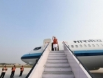 Narendra Modi departs from Kanpur