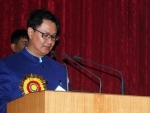 Kiren Rijiju honours the families of the Martyrs of Uri attack