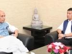 Lotus blooms in Arunachal after 33 MLAs of PPA join BJP