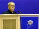 President Mukherjee congratulates DRDO on the successful test-firing of Agni-V