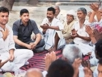 Congress projects Rahul as the saviour of farmers from Modi and RSS