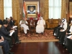 Union Home Minister calls on Prime Minister of Qatar