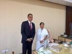 US Ambassador to India Richard Verma meets Mamata Banerjee