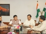 Chief Minister of Arunachal Pradesh meets Mahesh Sharma