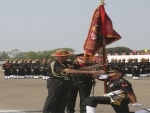 COAS presents colours to two battalions of the Mahar Regiment