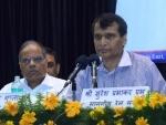 Suresh Prabhu flags-off India's fastest train, Gatiman Express
