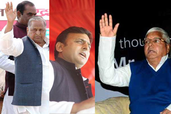 Lalu Prasad tries to mend rift between SP party chief Mulayam and UP CM Akhilesh