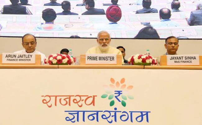 PM addresses tax administrators at Rajasva Gyan Sangam